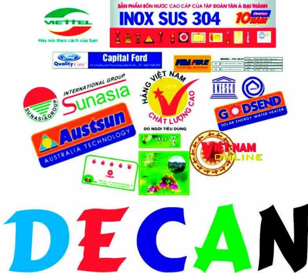 In Decal | In Decal Dán | In Decal Nhựa | In Decal 3M | In Decal TpHCM